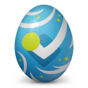 Foursquare easter egg